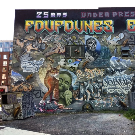 left half of the K6A wall for the 2020 edition of Under Pressure