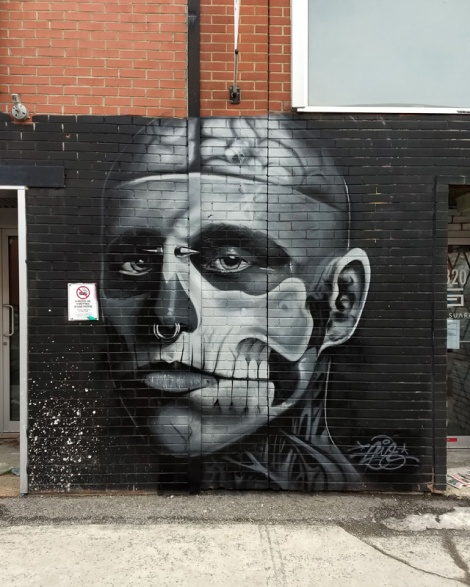 portrait of Zombie Boys by Awie in St-Henri