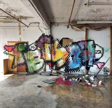 Bosny in an abandoned building