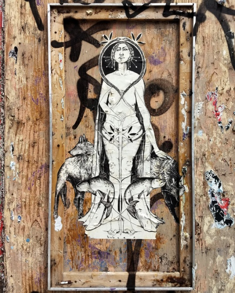 wheatpaste from Bubzee