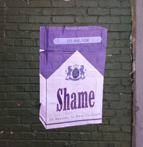 wheatpaste from Shame