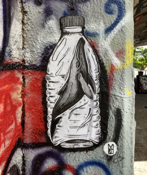 small paste-up by Marine Martinelli