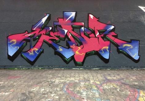 Medor at the PSC legal graffiti wall