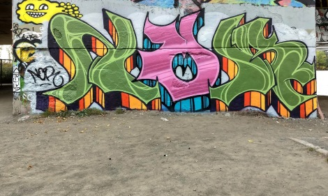 Nor at the Papineau legal graffiti wall