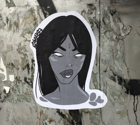 small paste-up by Tshoko